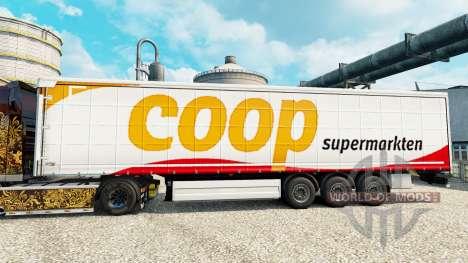 Haut Coop Trailer für Euro Truck Simulator 2