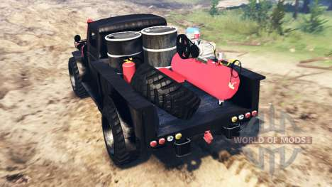 GTA V Bravado Duneloader für Spin Tires