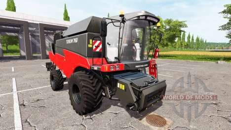 Ich Rostselmash 760 Tora rot für Farming Simulator 2017