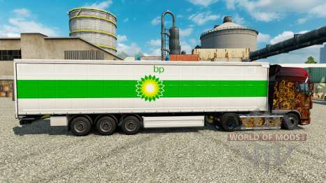 Haut-GP auf semi für Euro Truck Simulator 2