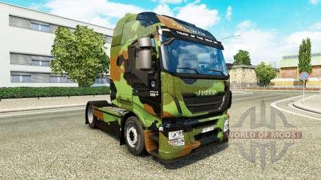 Camo peau pour Iveco tracteur pour Euro Truck Simulator 2