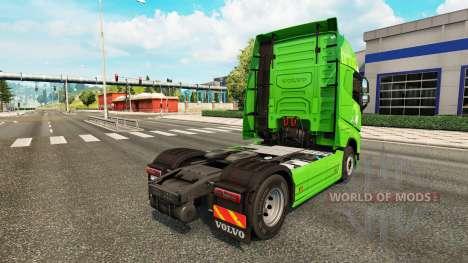 Apporter de la peau pour Volvo camion pour Euro Truck Simulator 2