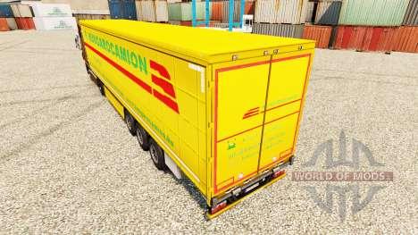 Hungarocamion Haut für Anhänger für Euro Truck Simulator 2