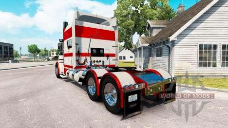 Haut-Kaninchen-Fluss für den truck-Peterbilt 389 für American Truck Simulator