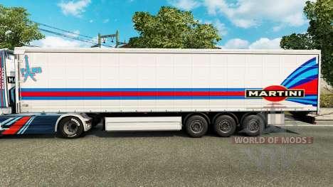 Haut-Martini-Rancing für Anhänger für Euro Truck Simulator 2
