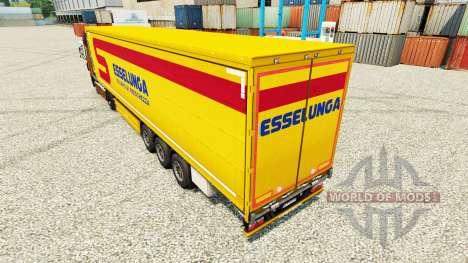 La peau Esselunga S. p.un.Un. est un semi pour Euro Truck Simulator 2