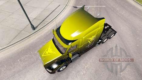 La peau de l'Instinct sur le tracteur Peterbilt  pour American Truck Simulator