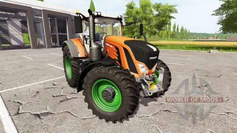 Fendt 930 Vario rims and body color choise für Farming Simulator 2017