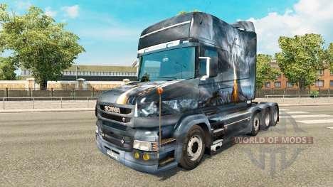 Dragon v2-skin für den truck Scania T für Euro Truck Simulator 2