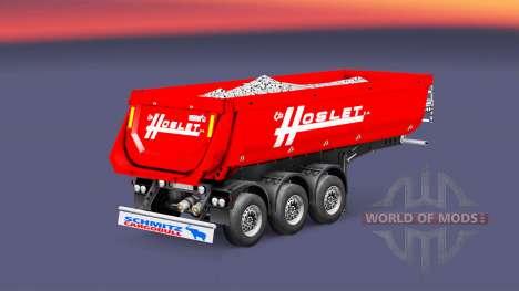 Auflieger Kipper Schmitz Cargobull Hoslet für Euro Truck Simulator 2