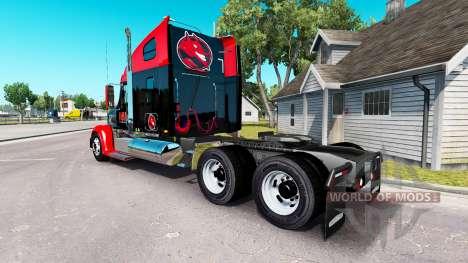 Скин Hell Energy Drink на Freightliner Coronado für American Truck Simulator
