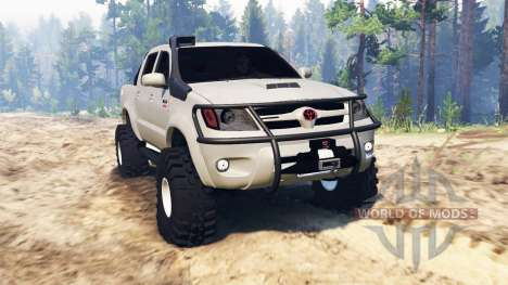 Toyota Hilux 2013 pour Spin Tires
