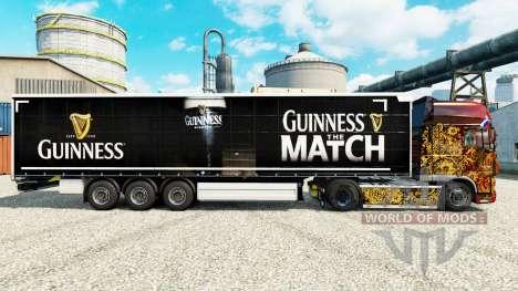 Guinness Haut für Anhänger für Euro Truck Simulator 2