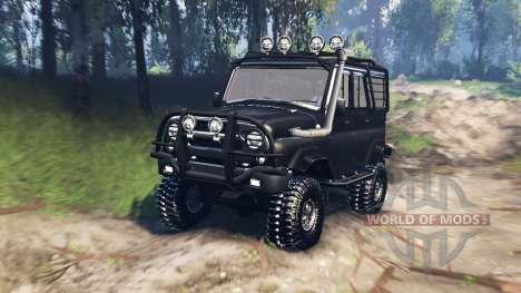 UAZ-31520 v3.0 für Spin Tires