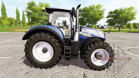 New Holland T7.315 blue power pour Farming Simulator 2017