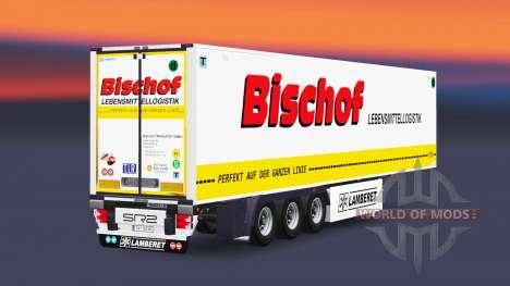 Semitrailer reefer EN Évêque pour Euro Truck Simulator 2