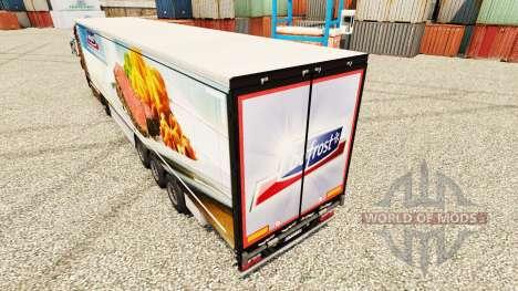 Bofrost de la peau pour les remorques pour Euro Truck Simulator 2
