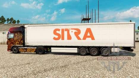 Sitra la peau pour les remorques pour Euro Truck Simulator 2