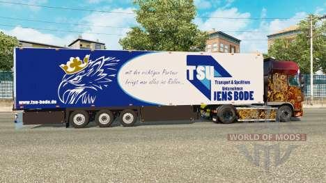 Semitrailer refrigerator Schmitz Jens Bode für Euro Truck Simulator 2