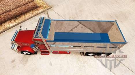 Peterbilt 379 tipper für American Truck Simulator