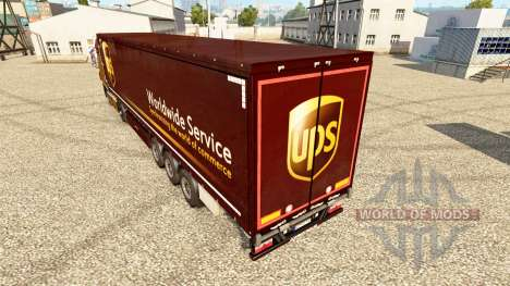 La peau de l'ONDULEUR pour les remorques pour Euro Truck Simulator 2