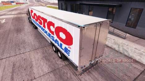 Haut Costco Wholesale extended trailer für American Truck Simulator