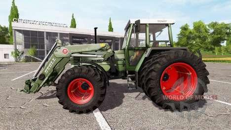 Fendt Farmer 312 LSA Turbomatik v1.0.1 für Farming Simulator 2017