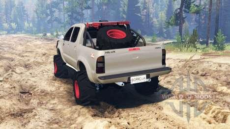 Toyota Hilux 2013 für Spin Tires