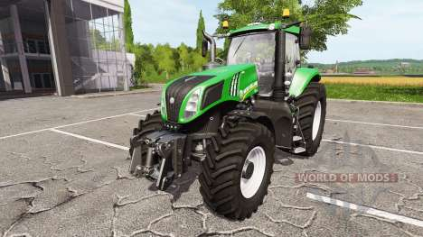 New Holland T8.320 green edition pour Farming Simulator 2017