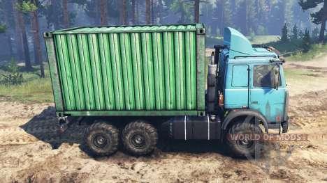 MAZ-6317 für Spin Tires