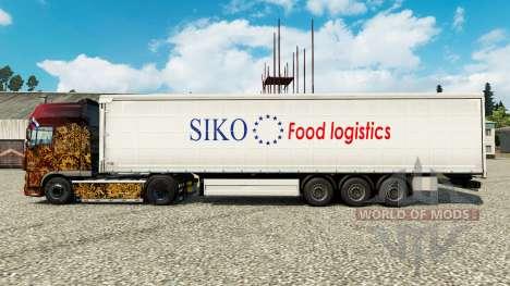 La peau Siko la Logistique Alimentaire pour les  pour Euro Truck Simulator 2