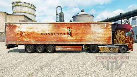 Haut Monsanto für Anhänger für Euro Truck Simulator 2