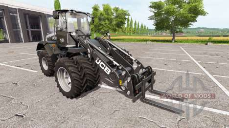JCB 435S black pearl pour Farming Simulator 2017