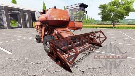 Rostselmash SK-5 Niva für Farming Simulator 2017