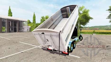 Peterbilt 389 grain truck v2.0 für Farming Simulator 2017