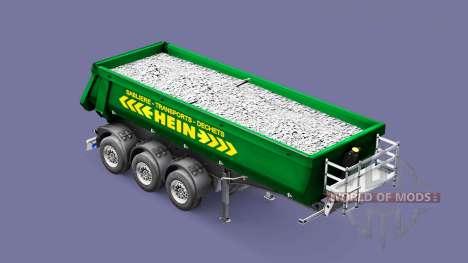 Semi-trailer tipper Schmitz Cargobull HEIN für Euro Truck Simulator 2