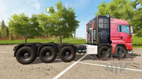 MAN TGS 18.440 10x6 pour Farming Simulator 2017