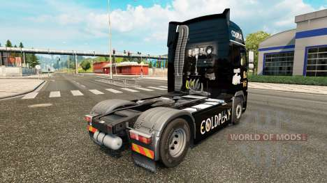 Coldplay peau pour Volvo camion pour Euro Truck Simulator 2