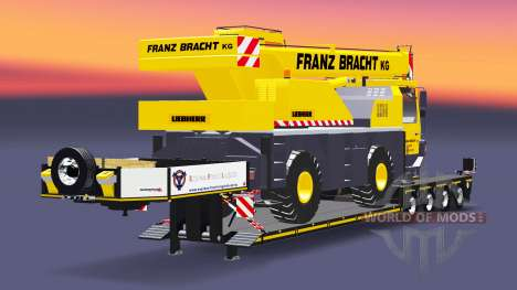 Bas de balayage camion-grue Liebherr LTM 1030 pour Euro Truck Simulator 2