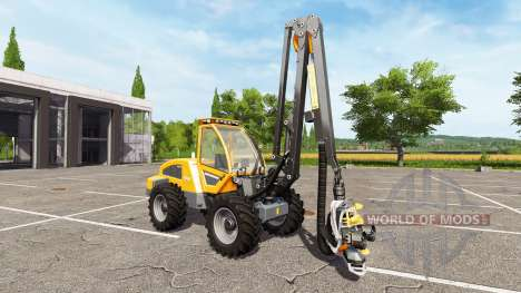 Sampo Rosenlew HR46X full cranecontrols pour Farming Simulator 2017