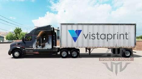 Haut Vistaprint auf einem kleinen Anhänger für American Truck Simulator