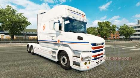 Transalliance-skin für den Scania T truck für Euro Truck Simulator 2