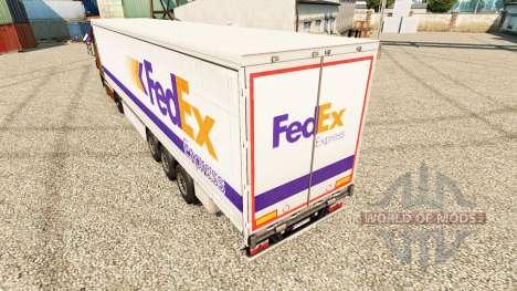 FedEx Express Haut für Anhänger für Euro Truck Simulator 2