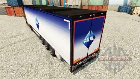 Aral Haut für Anhänger für Euro Truck Simulator 2