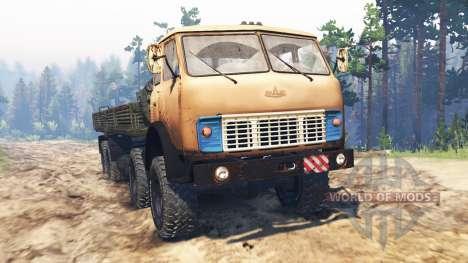MAZ-515Р 8x8 pour Spin Tires