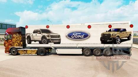 La peau Ford semi pour Euro Truck Simulator 2