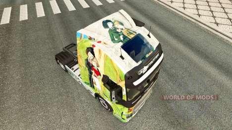 E Peynet skin für Volvo-LKW für Euro Truck Simulator 2