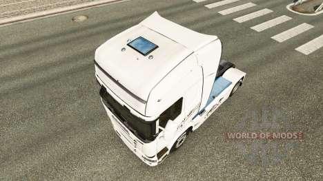 Skin Porsche Traktor Scania für Euro Truck Simulator 2