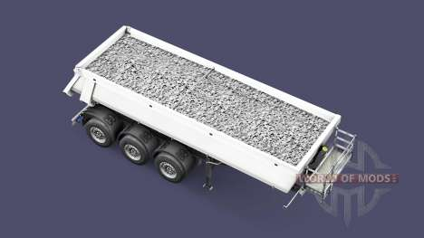 Semi-remorque benne Schmitz Cargobull pour Euro Truck Simulator 2