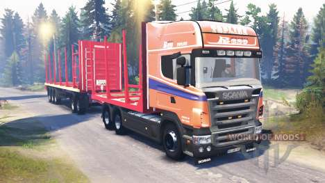 Scania R620 v2.0 pour Spin Tires